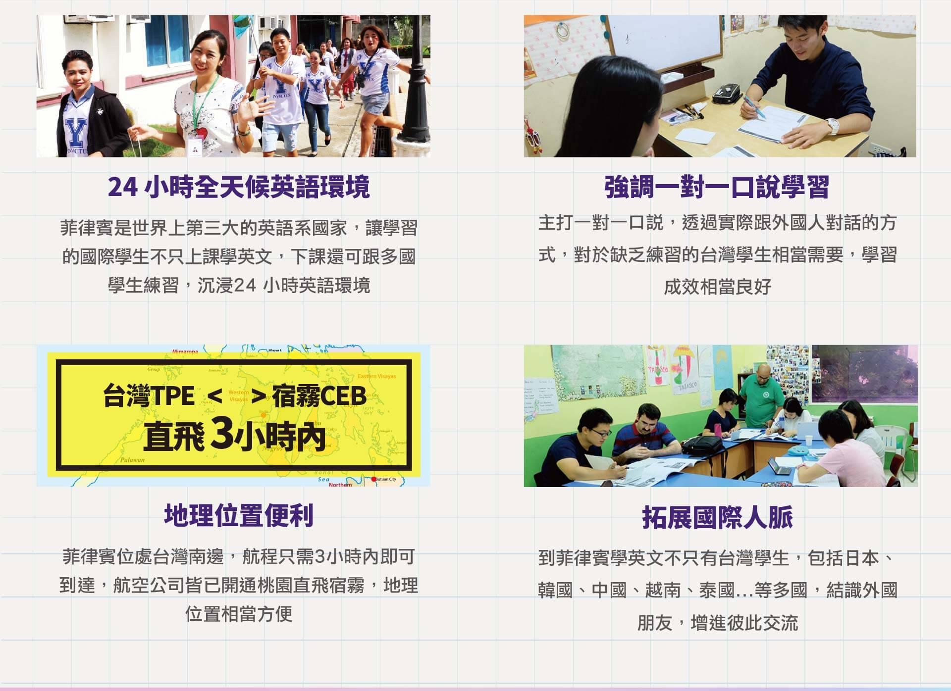 菲律賓遊學英語多益,雅思,托福,英文證照考試